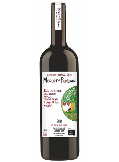 vino merlot 2019 piombaia